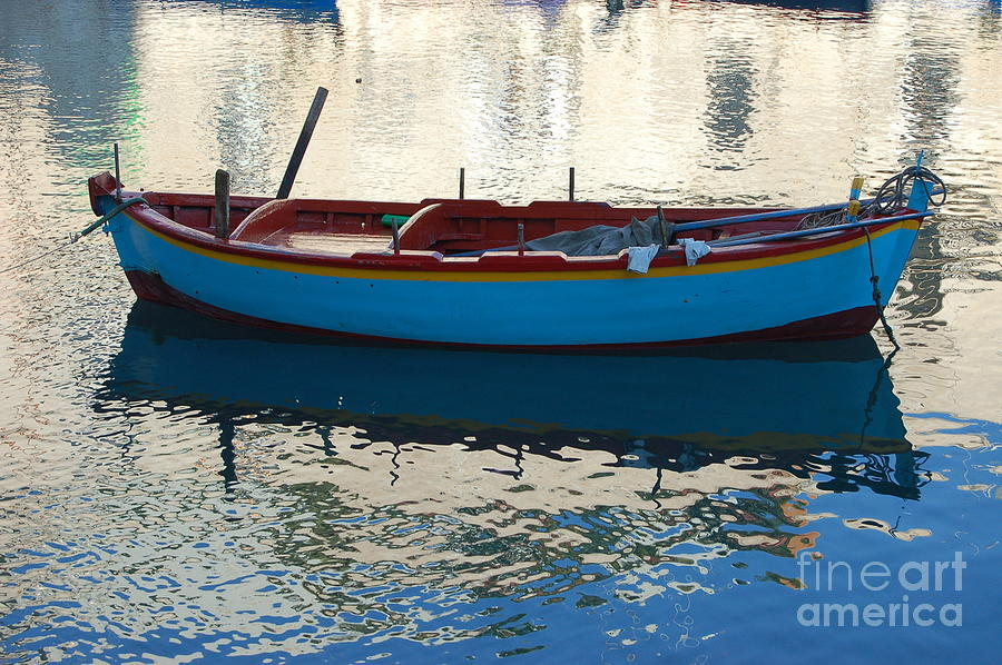Adriatic Photograph - Waiting To Go Fishing by Frank Stallone