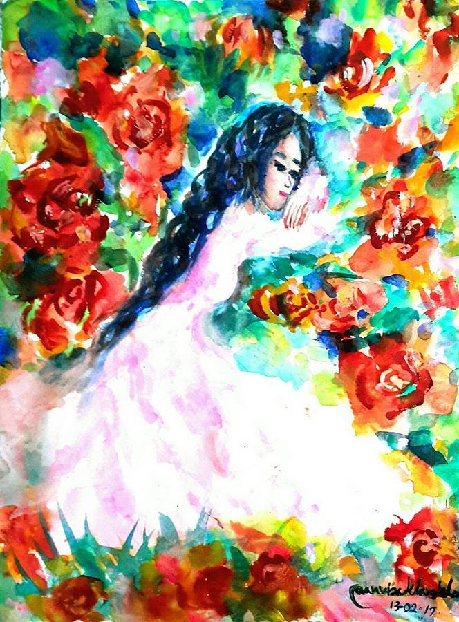Waiting true love by Wanvisa Klawklean