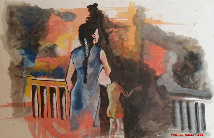 Waiting Painting - Waiting....... by Yogesh Bamni