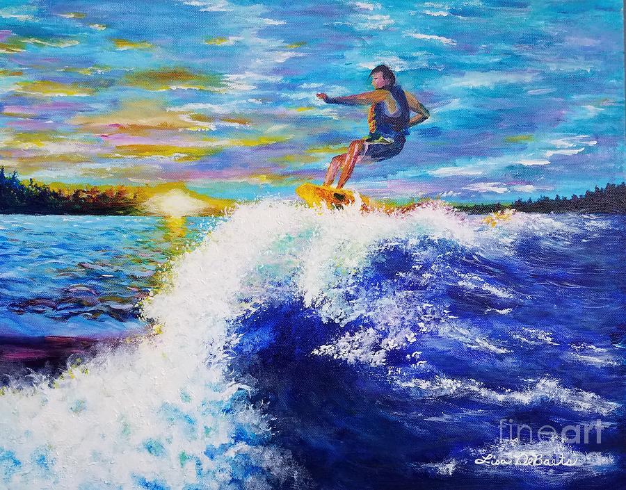 Wake Surfin' by LISA DEBAETS