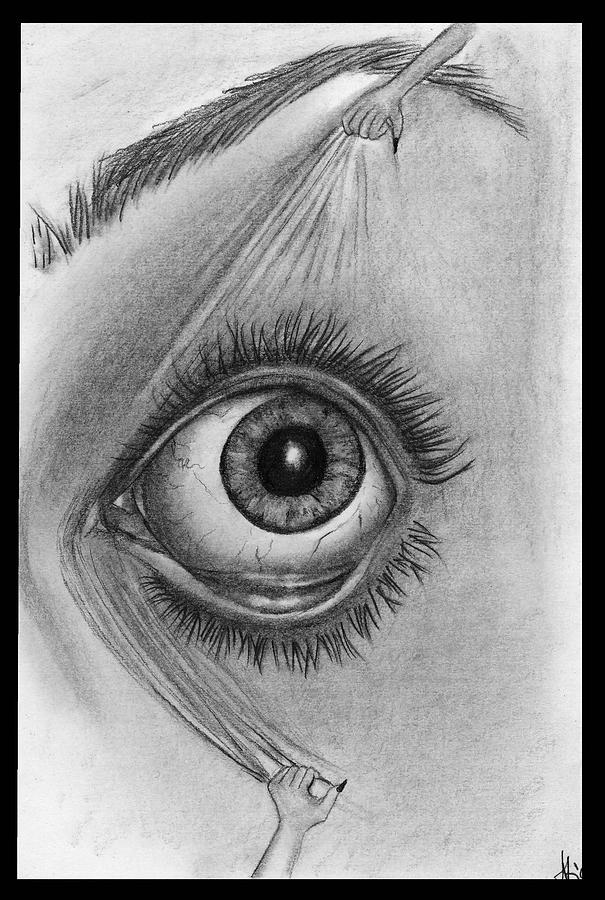 Eye Drawing - Wake Up by Alycia Ryan