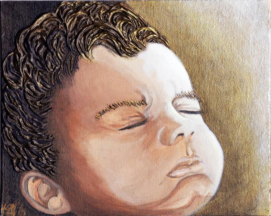 Children Painting - Wake Up Sleepy Head by Keenya  Woods