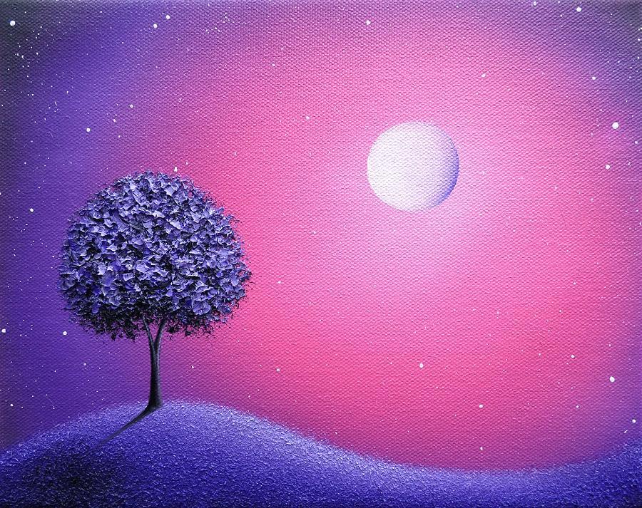 Wakes The Night Painting