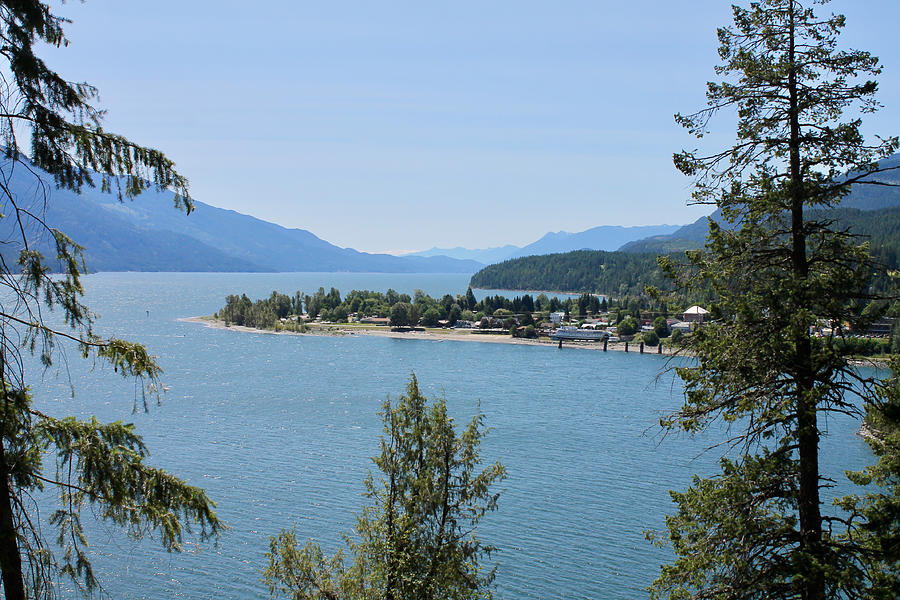 Kaslo Photograph - Waking Up In The Post Card by Cathie Douglas