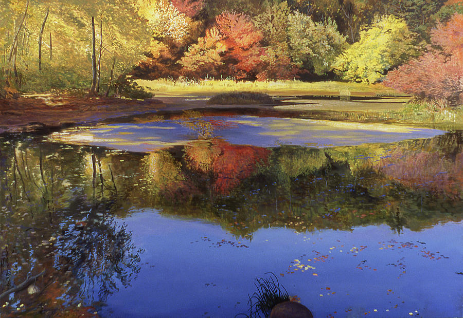 Walden Painting - Walden Pond II by Art Chartow