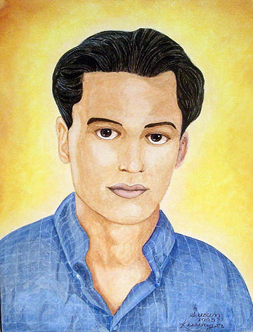 Portrait Painting - Walid by Susan Clausen