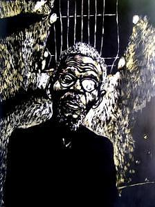 Walimu Wally Mixed Media by Chester Elmore