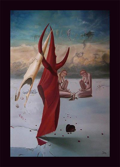 Walk Painting by Gunter Hujber
