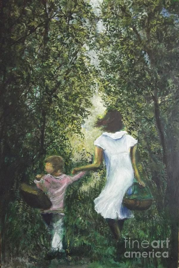 Walk In The Woods... Painting