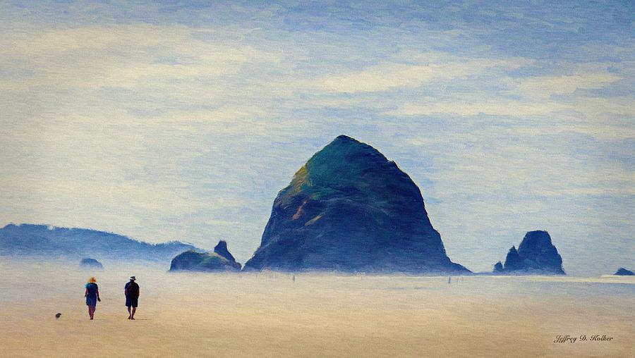 Walk on the Beach by Jeffrey Kolker