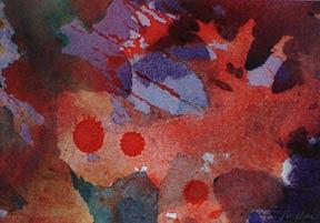 Color Painting - Walk On The Wild Side Forest Floor Series by Lynn Millar