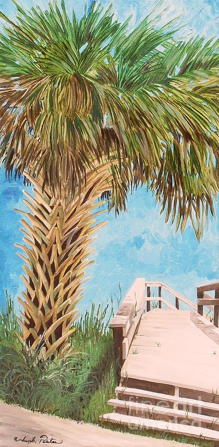 Landscape Painting - Walk Onto Anna Maria Island Florida by Joseph Palotas