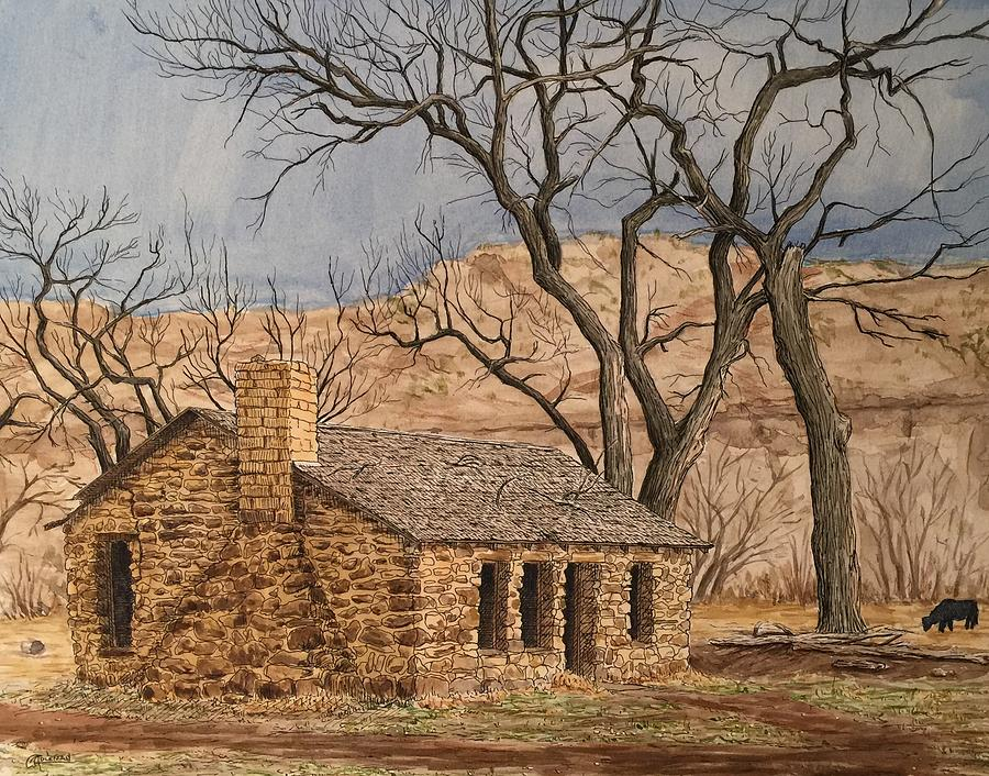 Walker Homestead in Escalante Canyon by Rick Adleman