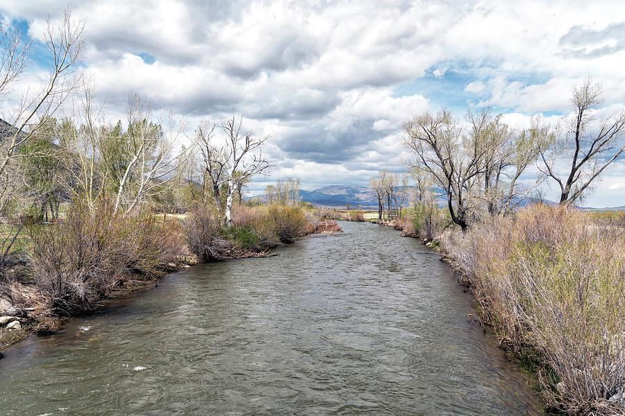 Walker River Running Through The Valley Photograph