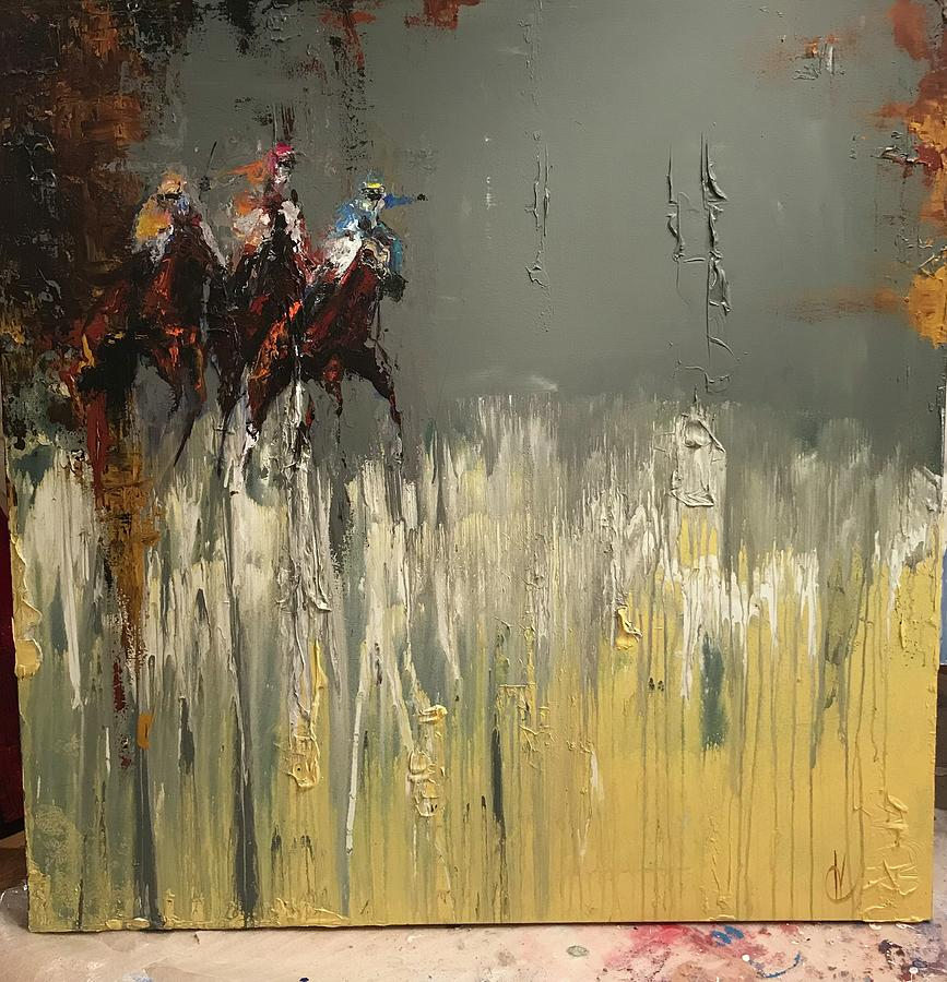 Walker Run Painting by Heather Roddy