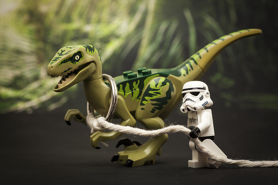 Lego Photograph - Walkies by Samuel Whitton