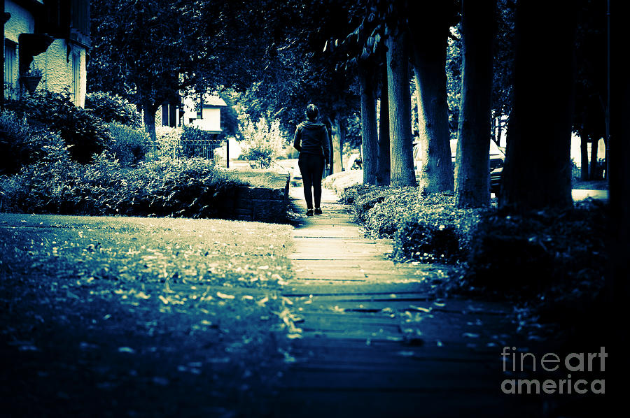Walking a Lonely Path by Paul Warburton