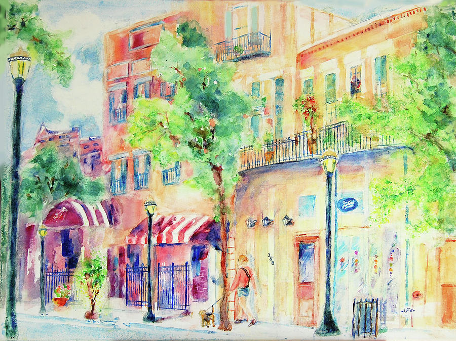 Walking Along Dauphin Street by Jerry Fair