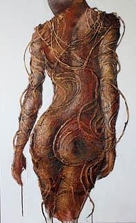 Body Painting - Walking Away by Milda Aleknaite