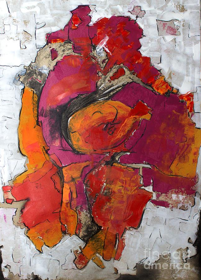 Walking his armadillo by Nicole Philippi