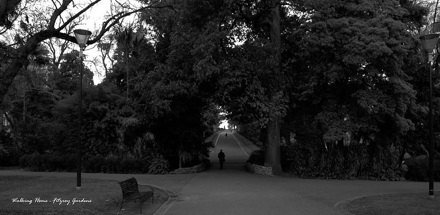 Landscape Photograph - Walking Home by James Osborne