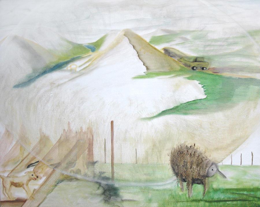 Walking On Eggshells Painting by Darkest Artist