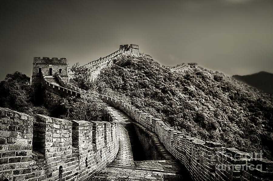 China Photograph - Walking on the history by Alessandro Giorgi Art Photography