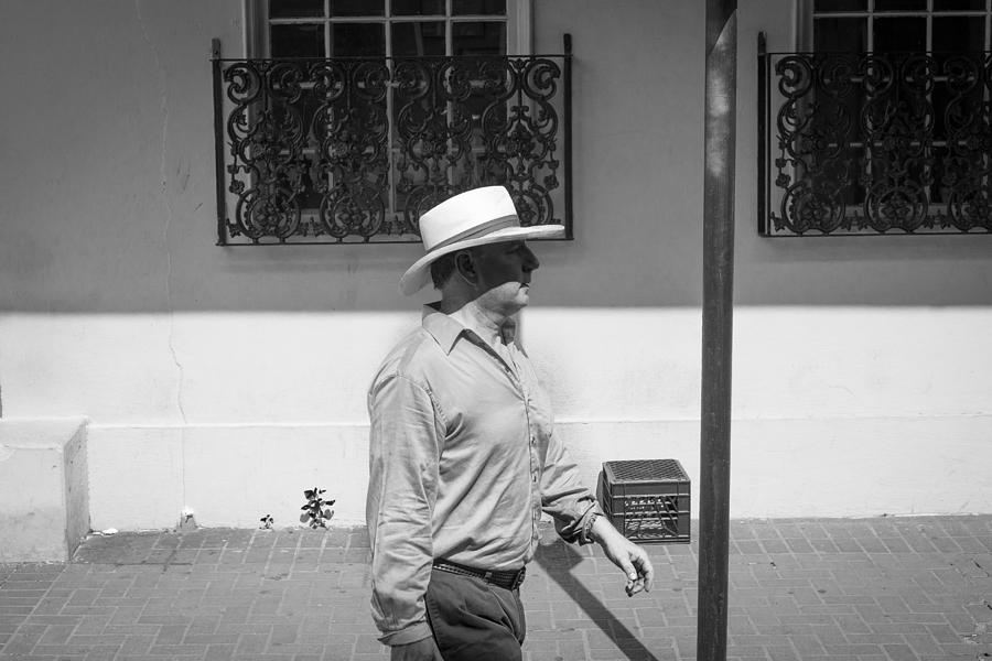 Big Easy Photograph - Walking Past  by Giovanni Arroyo
