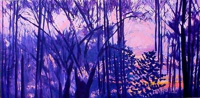 Winter Painting - Walking by R Grantham