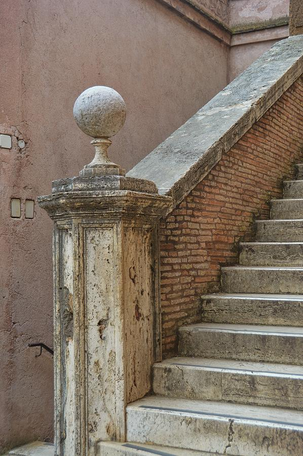 Italy Photograph - Walking The Castel by JAMART Photography