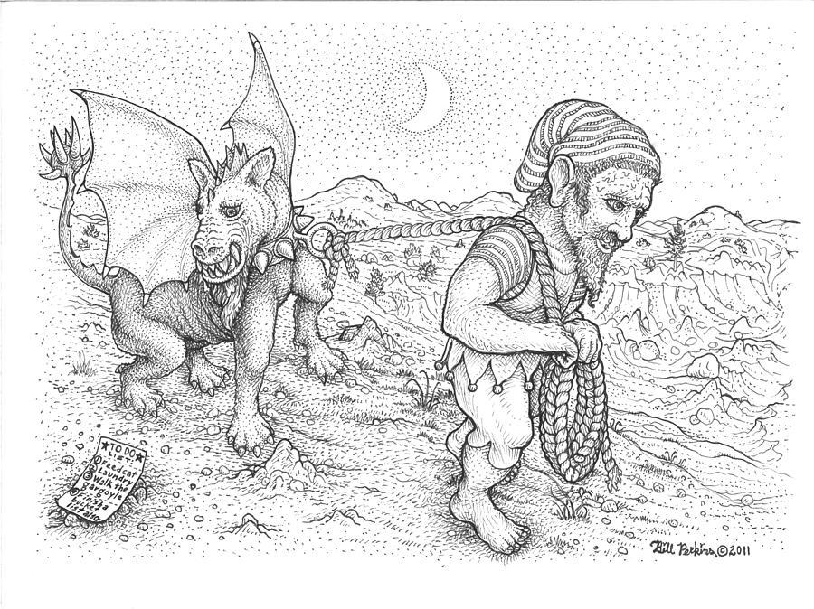 Walking the Gargoyle by Bill Perkins