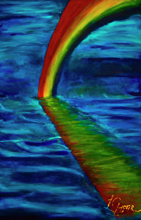 Walking The Rainbow Painting by William LaGrone Jr