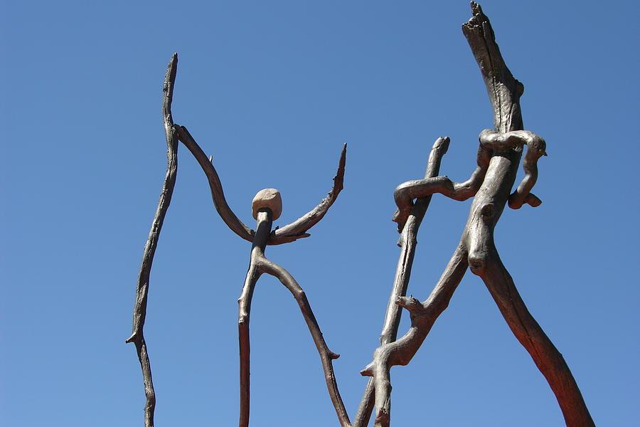 Bronze Sculpture - Walking by Thor Sigstedt