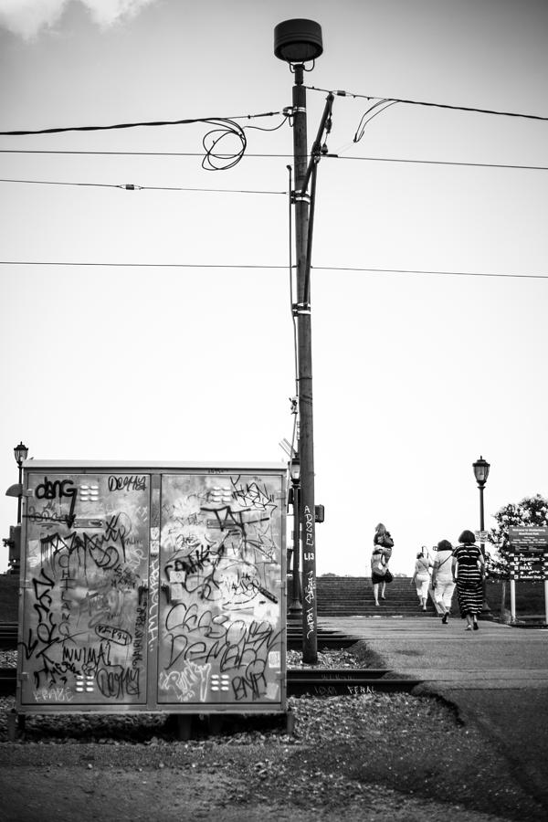 Big Easy Photograph - Walking to the River by Giovanni Arroyo