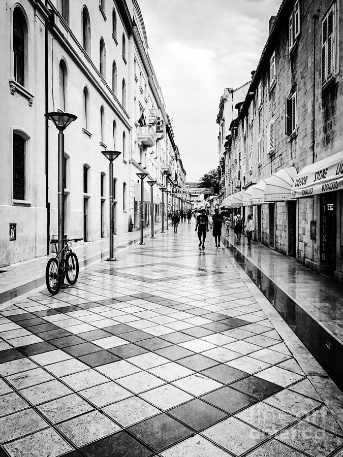 Walkways In Split, Croatia Photograph by JMerrickMedia