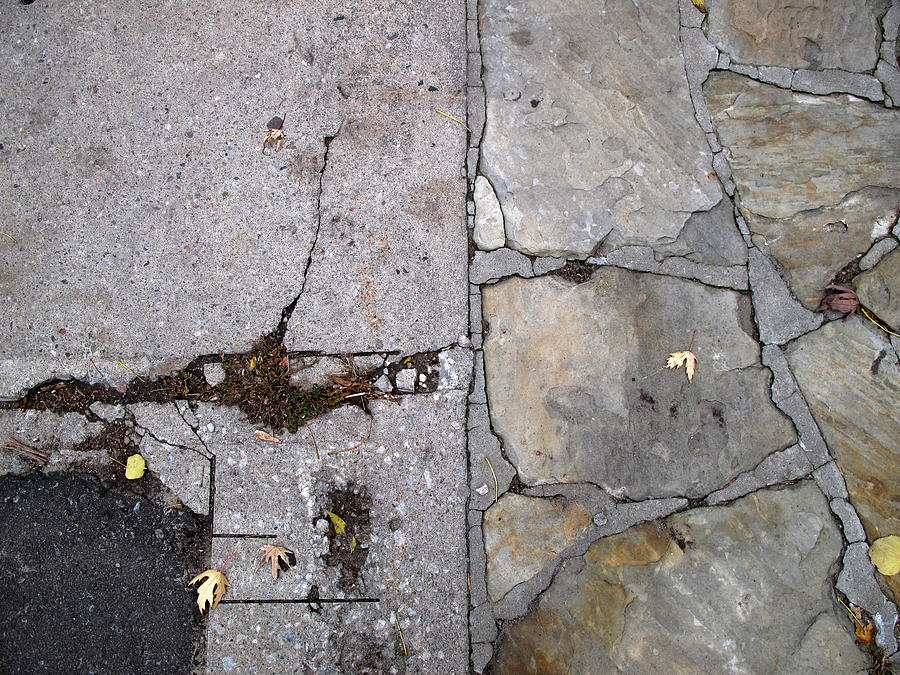 Urban Photograph - Walkways by Lyle Crump
