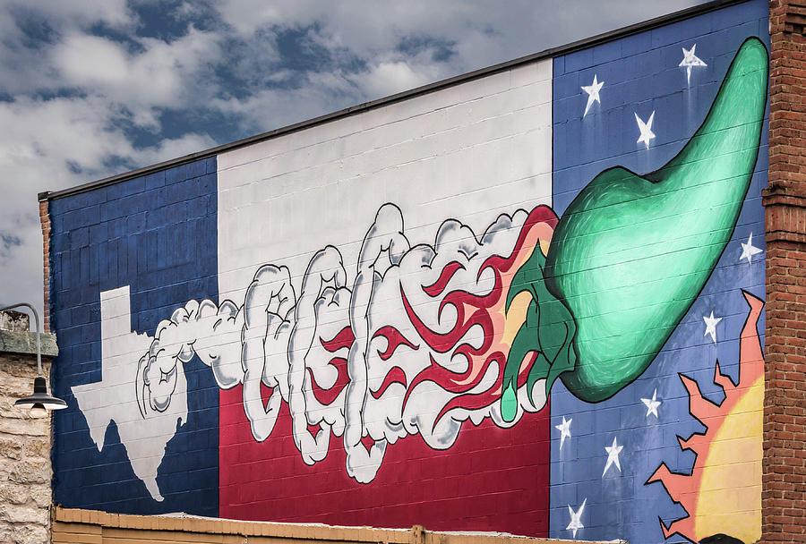 Wall Art, Austin, Texas Photograph by Jim Allen