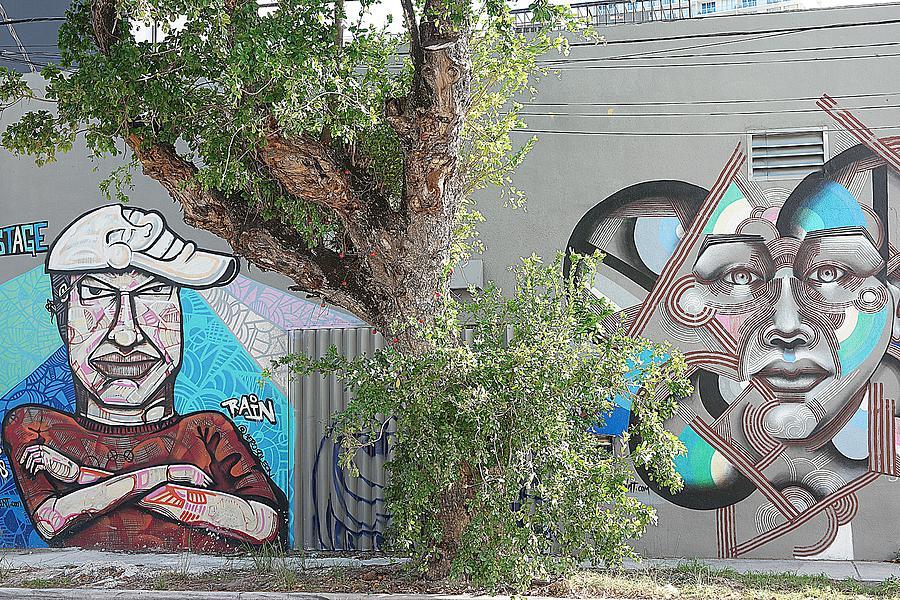 Wall Art Miami Photograph by Chris Hood