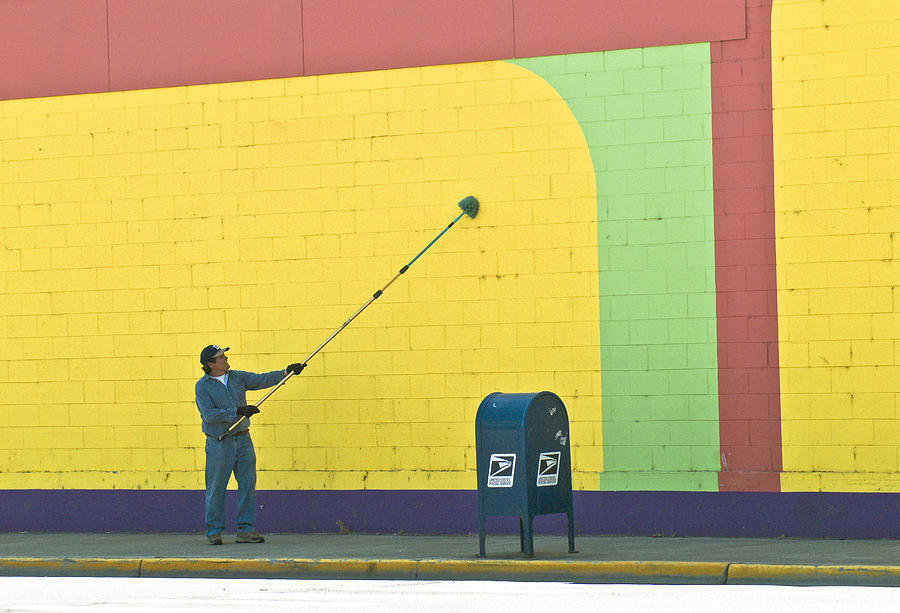 Vibrant Colors Photograph - Wall Cleaner by Craig Perry-Ollila