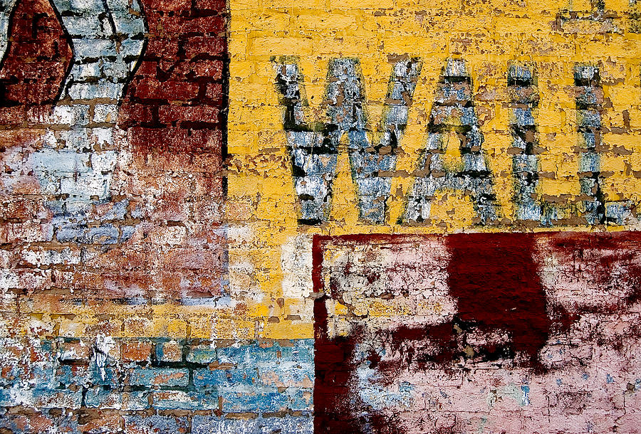Brick Wall Photograph - Wall by Curtis Staiger