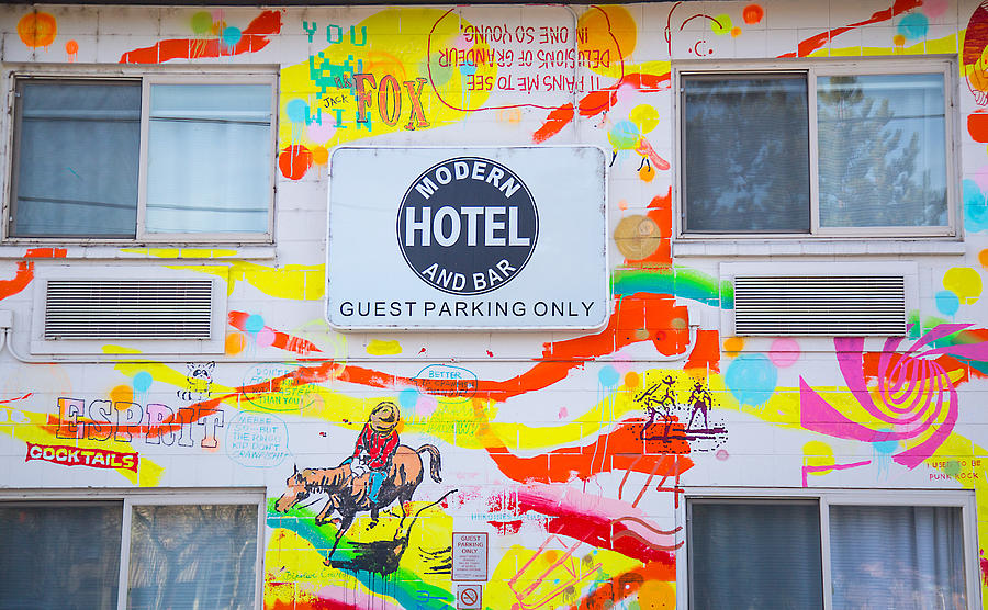 Wall Graffiti Art Photograph by Dart Humeston