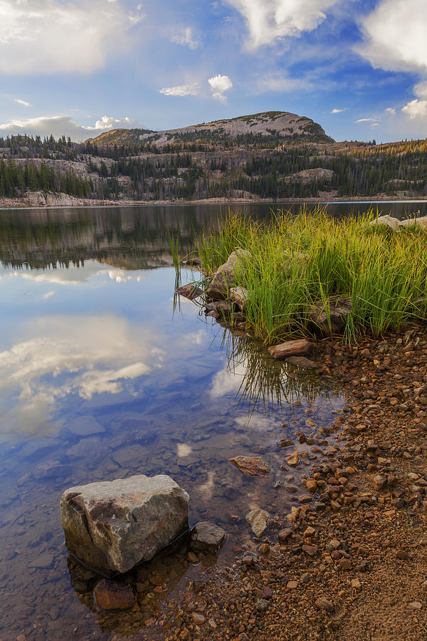 Wall Lake Photograph - Wall Lake by Chad Dutson