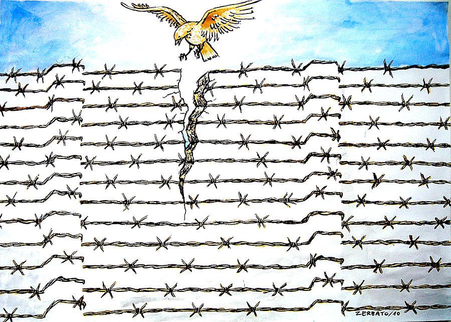 Wall Digital Art - Wall Of Separations by Paulo Zerbato