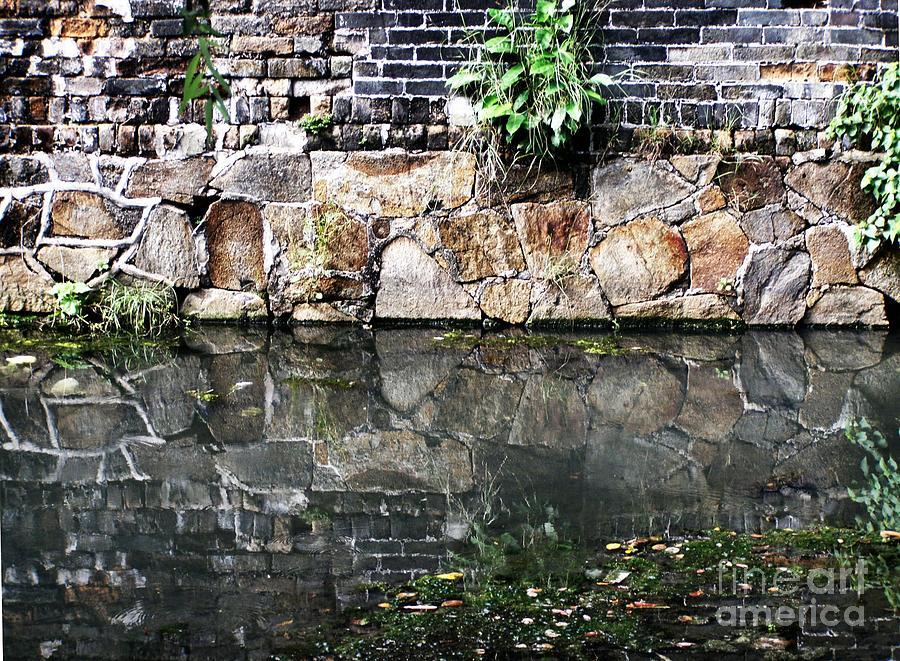 Hong Kong Photograph - Wall Reflection by Kathy Daxon