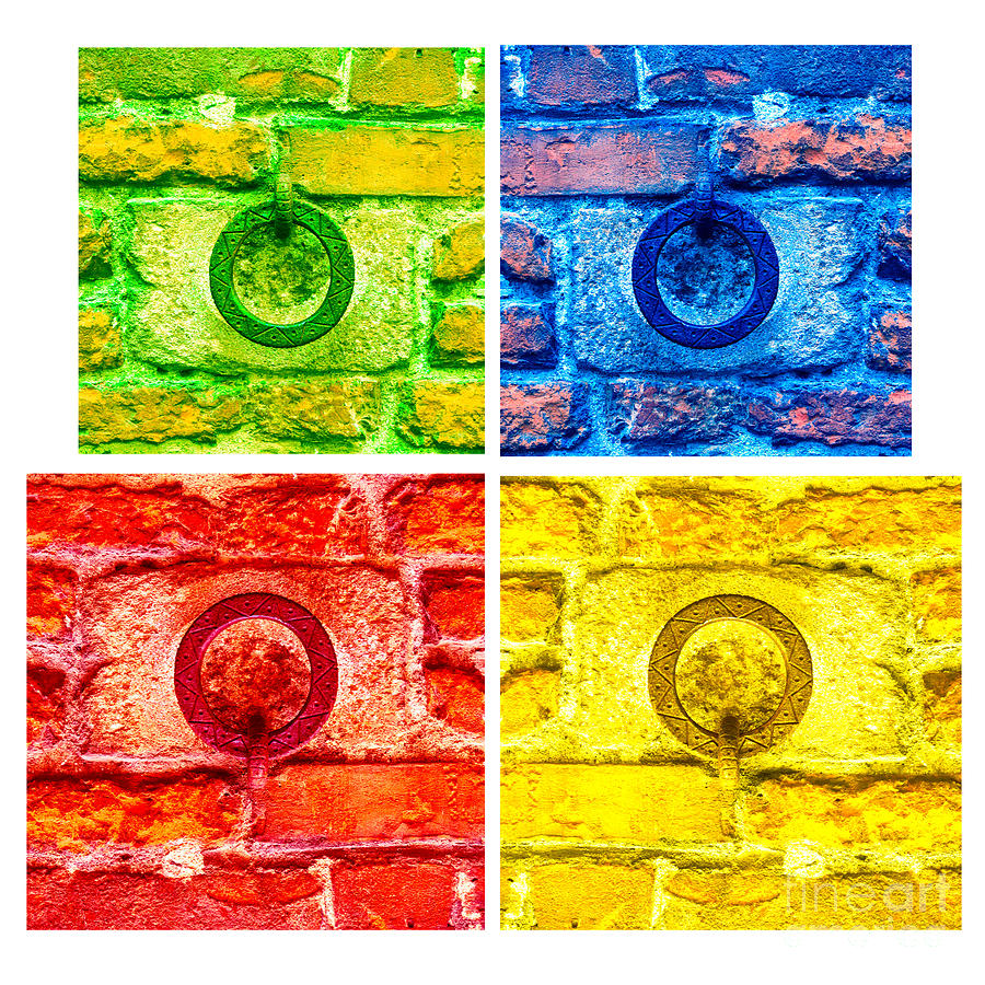 Wall Ring Mosaic 3 Photograph by Mariusz Sprawnik