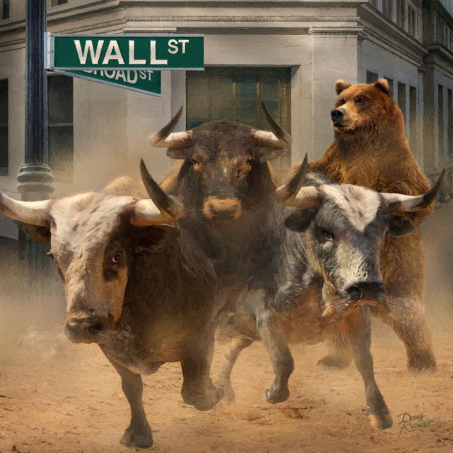 Wall Street -- Bull and Bear Markets by Doug Kreuger