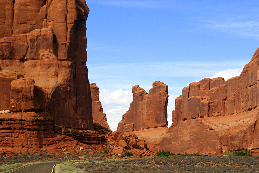 Arches National Park Photograph - Wall Street by Marty Koch