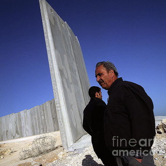 West Bank Photograph - Wall West Bank by Jason Moore