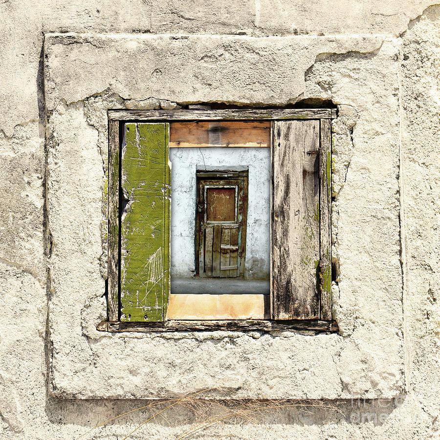 Wall Digital Art - Wall, Window And Door by Phil Perkins
