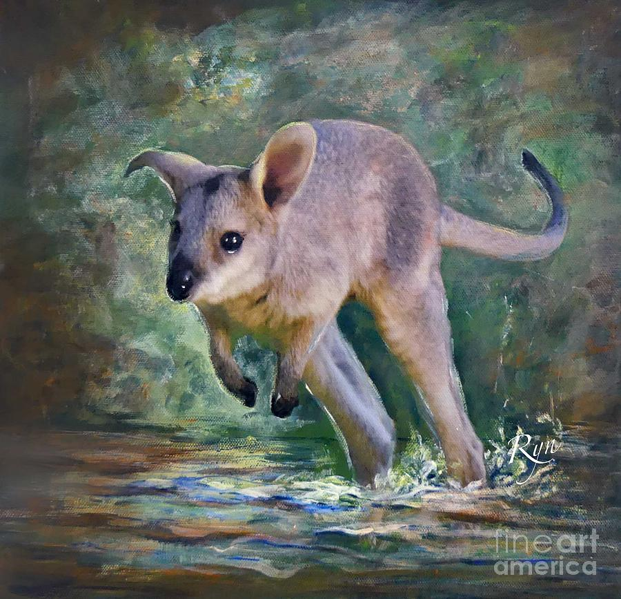 Wallaby Hop by Ryn Shell
